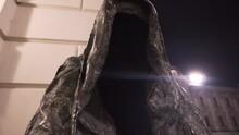 Statue Cloak Of Conscience At Night,Commendatore,Prague Estates Theatre,Czechia.