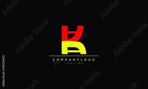Canvas Print KAA Abstract initial monogram letter alphabet logo design