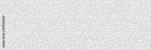 Geometric pattern from triangles. Seamless triangle background. Web banner. Black and white wallpaper