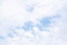 Sky Blue Or Azure Sky And Clou...