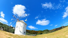 小豆島オリーブ公園風車15