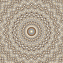 Caleidoscope Pattern With Circ...