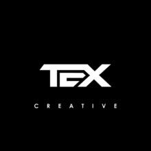 TEX Letter Initial Logo Design Template Vector Illustration