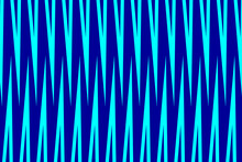Simple Striped Background - Blue - Vector Patternt