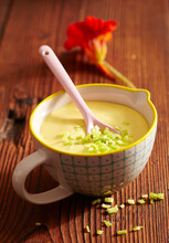 Passion Fruit Mayonnaise With Ginger For A Fondue