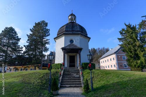 Fényképezés silent night chapel in oberndorf, salzburg, austria