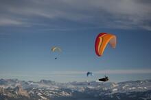 Paragliding On Rigi