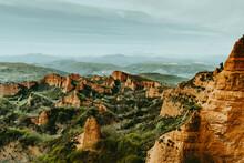 Ancient Remains Of Gold Mines Medulas De León Spain