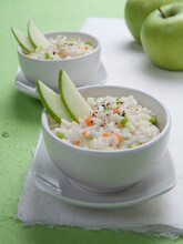 Green Apple Risotto