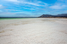 DJIBOUTI,REPUBLIC OF DJIBOUTI/FEBRUARY 3,2013:Lake Assal Is The Largest Salt Lake In Djibouti.