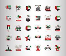 Uae National Day Set Of Icons ...