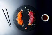 Tuna And Salmon Sashimi (Japan)