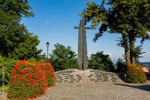 monumento a la liberacion de Polonia, Sanok, Voivodato de Subcarpacia, Polonia, eastern europe
