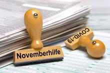 Stempel Mit Aufschrift Novembe...
