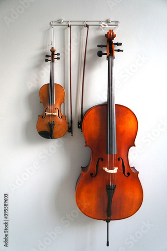 Fotografia, Obraz violin and bow