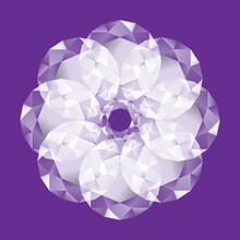 Brilliant Diamond Game On Vinous Backgrounds