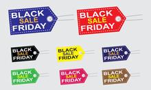 Black Friday Sale Background More Color Design.