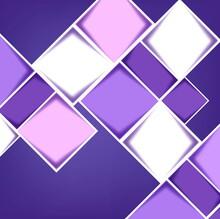 Purple Blocks Background