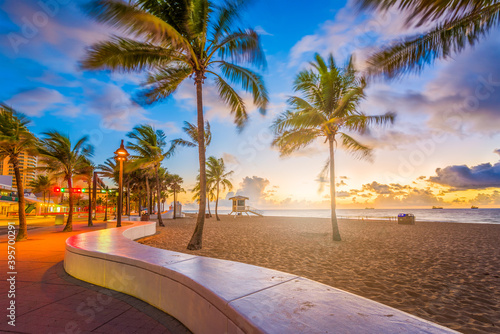 Canvas-taulu Fort Lauderdale Beach Florida