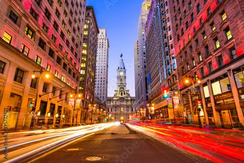 Philadelphia on Broad Street Fotobehang