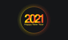 2021, New-year, New Year, New Year 2021, New, Year, Round, Happy New Year, Illustration, Vector, Art, Black, Colorful, Sparkle, Gold, Circle, Sale, Design, Card, Greeting Card, Holiday, Happy, Celebra