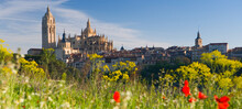 Segovia And Cathedral In The O...