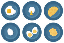 Egg Preparation Options: Boiled, Fried, Poached Egg, Omelette With Milk, Scrambled Eggs