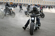 Motorcycles, Bikers, Road And Speed