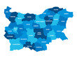 Bulgaria - map of provinces