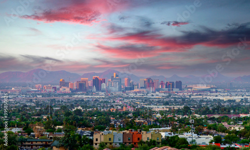 Photo Phoenix, Arizona skyline
