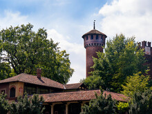 Borgo Medievale Is A Castle Where Elements Of Buildings And Gardens From All Over Italy Were Put Together To Create A Replica Castle In Turin Italy For The Ancient Art Section Of The 1884 Turin Expo