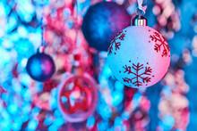 Nice Christmas Toy Ball With R...
