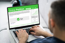 Filling And Signing Online Petition Form