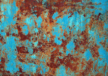 Rusty Steel Sheet With Remnant...