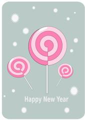 pink sweet lollipops, sweets