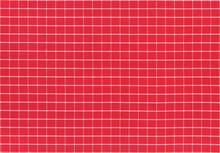 Red White Classic Plaid Fabric...