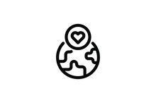 Wedding Outline Icon -  World Of Love