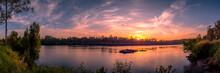 Beautiful Panoramic Riverside ...