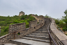 Great Wall Of China At Badaling - Beijing