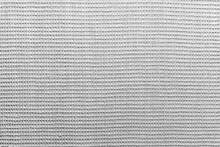 Grey Matting Type Fabric Made Of Natural Cotton As A Background