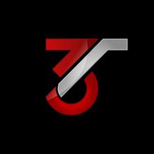 Number 3 Three Logo Design Graphic Vector Illustrations