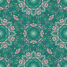 Mandala Seamless Pattern Talavera Tiles