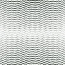 Pattern With Zigzags Of Different Sizes On A White Background