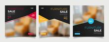 Furniture Social Media Post Templates
