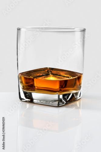 Fotografie, Obraz Whiskey served neat in a glass