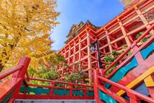秋の祐徳稲荷神社 佐賀県鹿島市 Autumn Yutokuinari Shrine Saga-ken Kashima City
