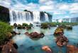 waterfall in the forest iguazu falls