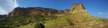 Panorama From Golden Gate Highlands National Park
