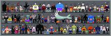 Personaggi E Caricature Serie 7   Mostri   Alieni   Cartoons