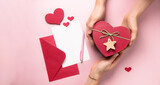Valentine's Day letter and gifts, love message